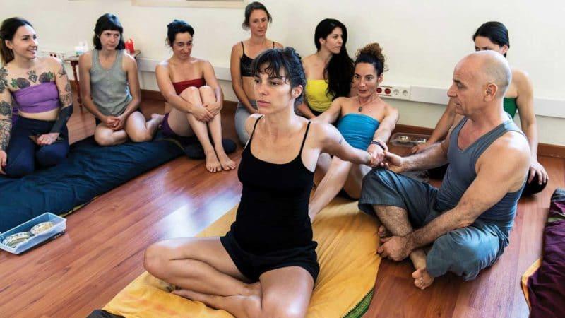 Ayurvedic Yoga Massage training – The Butterfly Stretch